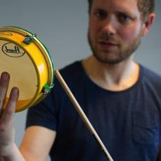 Gijs Anders van Straalen Muzikant Percussionist