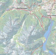 Vom  Königssee über Grünstein ,Ramsau zum Hintersee