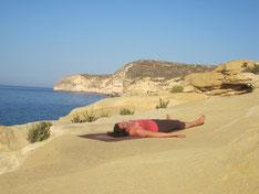 Shavasana - Entspannungshaltung