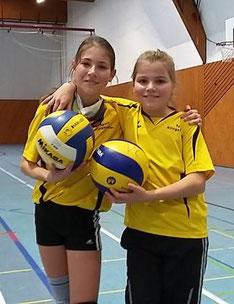 Das erfolgreiche VCS-Team: Annika Abele und Miriam Rometsch