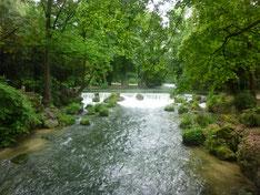 Wasserfall / Engl. Garten Foto Heidrun Langer