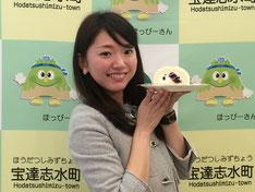 石川テレビ『リフレッシュ』 的場絢香さん
