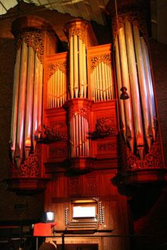 Orgel in St. Elisabeth, K-Pesch (Foto: Kirsten Gerwens)