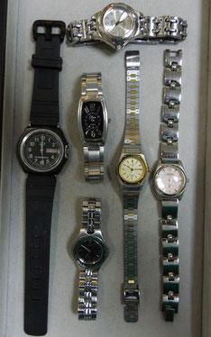 お客様が、お持ちになられた時計。