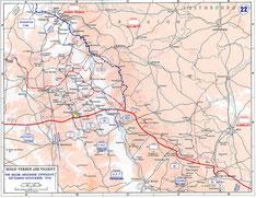 Amerikanische Gegenoffensive 1918 - Quelle U.S.Archiv