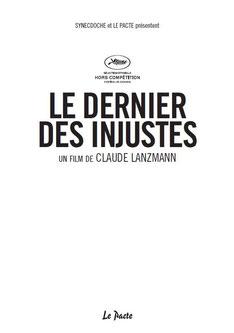 Affiche de C. Lanzmann (DR)