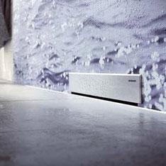 Desagüe empotrado a la pared para baño