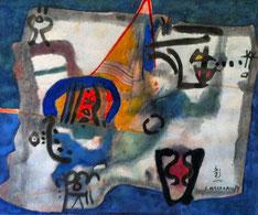 regard interieur, shoichi Hasegawa, aquarelle