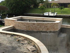 Sommerküche Bauen : Baubericht cape coral florida ferienhaus villa sanibel shell