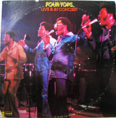 The Four Tops - 1974 / Live & In Concert