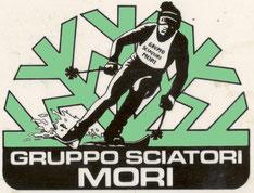 Il vecchio logo del Gruppo Sciatori Mori