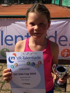 Jana Hecker beim SSC Kids Cup 2018