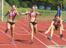 Hop - Step - Jump: Michelle beim Dreisprung