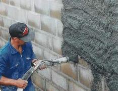 Liant fibré pour mortiers de cuvelage