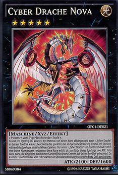 Cyber Drache Nova Karte