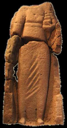Divinité - Rosmerta - Grès - Musée de Sarrebourg - croix guillaume de Saint-quirin