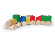 Holzspielzeug Puzzle Mobil Lastwagen von Fagus