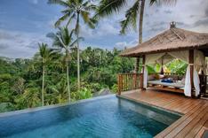 Natya Ubud Tropisches Hotel mit eigenem Pool im Regenwald Lage Luxus