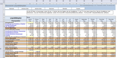 Liquiditätsplanung Excel Vorlage