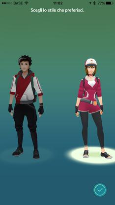 pokemon go stile che preferisci