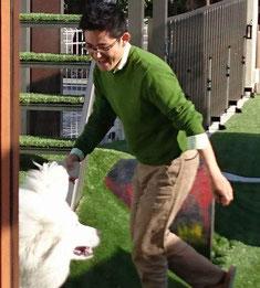 愛知県で唯一の犬とスマイルコーディネーターだったガーデンドクター柴ちゃん。