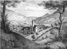 Alpirsbach 1839 (Foto: Müller / Freudenstadt)