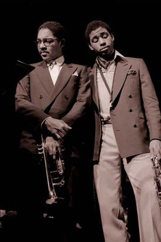 Wynton Marsalis and Branford Marsalis