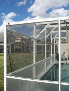pool screen repairs