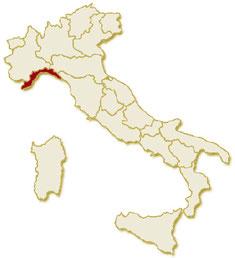 Italia regione Liguria