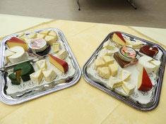 Kleine Spezialität: Unsere Käseplatten