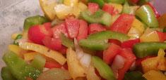 Dreierlei vom Paprika - ein kleiner Mix :-)