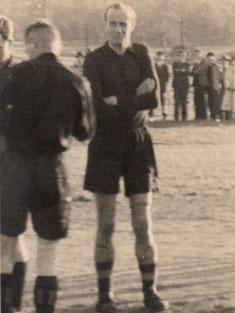 Spielertrainer Helmut Schön 1946