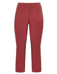 bordeux rote Plus Size Hosen stretch  , sexy Hinternform