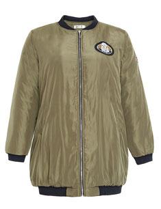 warme Bomber-Jacke khaki in Größe 48