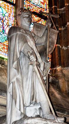 Saint-Louis- statue de marbre