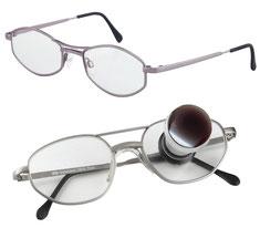Fernrohr-Lupenbrille