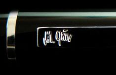 Unterschrift als Gravur auf dem Clip