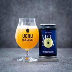 宇宙ビール UCHU BERUWING   MOON