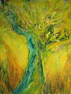 """""""Savann"""" - Acryl auf Leinwand 45x60"""