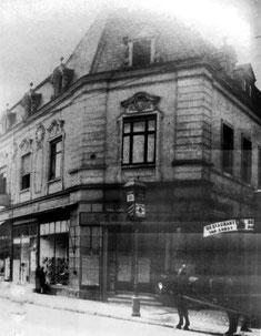 dudweiler, apotheke, markt, kaufhaus hanau, kino