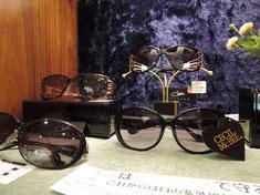 おしゃれな海外ブランドをはじめ、美容と健康に役立つサングラスも充実。度数付き可能な物もあります。
