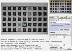 Дисторсия на фокусном 70 мм по версии Imatest4