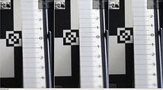 Легкий фронт фокус и фокус-шифт (слева направо f/1.8 - f/2.0 - f/2.8)