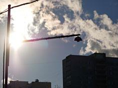 Солнце в границах кадра, 60 мм, f/9.0