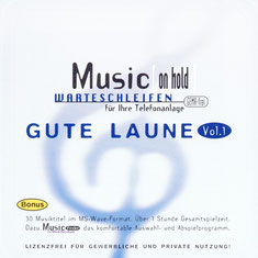 Gute Laune Vol.1 - Music [on hold] - CD Cover
