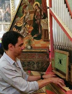 Salamanca (Spagna), Catedral Vieja, organo rinascimentale