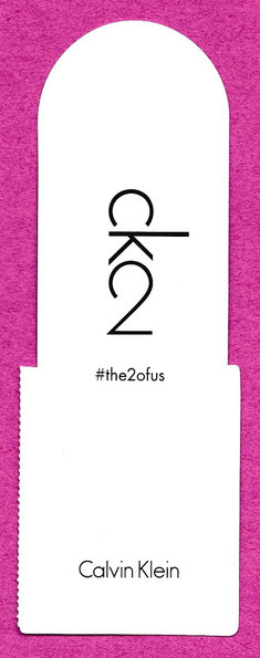 CARTE REPLIQUE CK2 - #the2ofus : RECTO  - PATCH A SON VERSO