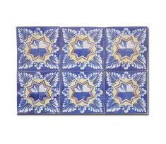 Muestra de 6 azulejos de15 x15 cm