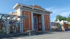 Lettland, Sigulda, Bahnhof