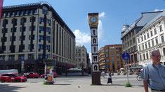 Riga, Blick auf die Fußgängerzone